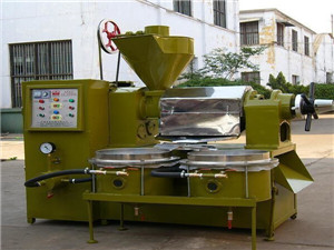 zx125 palm kernel oil processing machine/oil presser