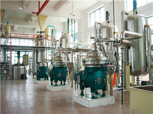 palm/ peanut/ sunflower/soybean oil crude oil refinery machine
