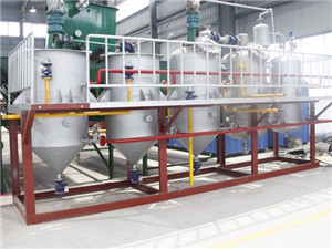 manufacturer, supplier of sesame oil refinery plant
