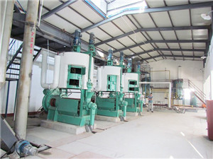 crude edible peanut oil refinery equipment