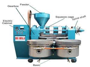 high quality hot press machine screw oil expeller oil