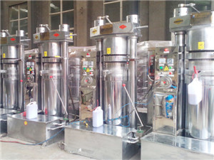 small oil production line - oil extraction machine