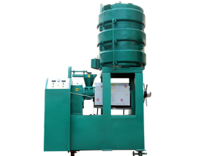 screw oil press machine for soybean and peanut for sale