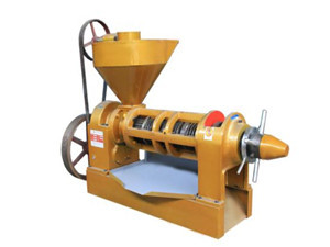 set up your own small oil pressing production line
