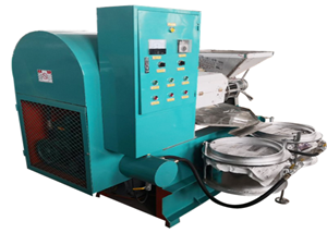 screw corn germ oil press machine soybean oil mill