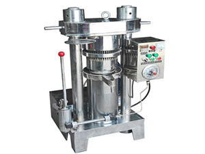 factory supply screw rapeseed oil squeezing machine