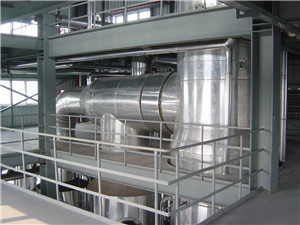 vegetable oil refining process machine production