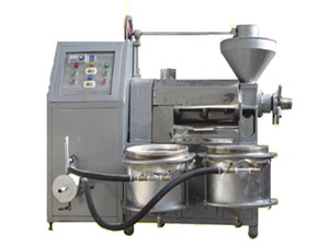 automatic screw flax seed cold oil press in tanzania