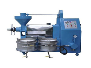 automatic cotton seed oil cold & hot pressing expeller