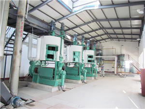 5 25t/d edible sesame oil press and refinery machine