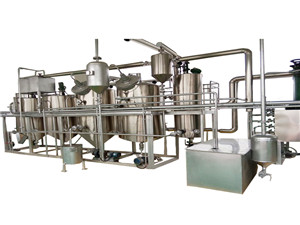 canola oil processing plant