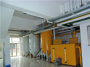corn germ oil extraction plant