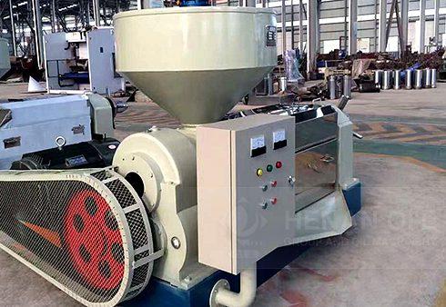 Cold and hot screw press machine
