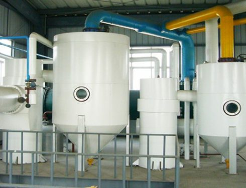 Mustard oil solvent extraction machine