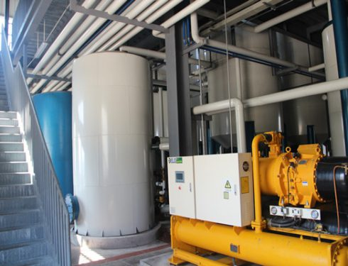 Oil fractionation equipment