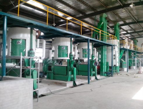 Soybean oil plant for Nigeria customers