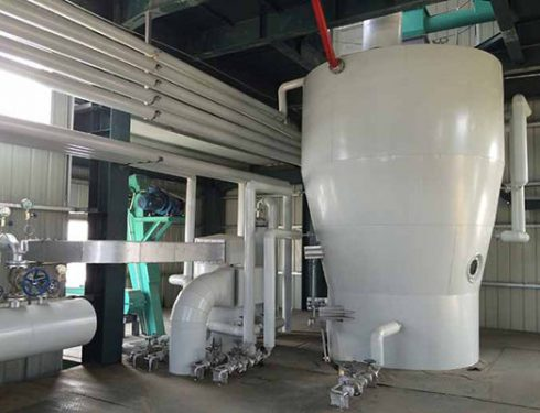 Rice bran oil solvent extraction machine