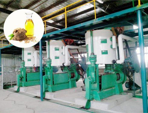 Soybean oil pretreatment machine