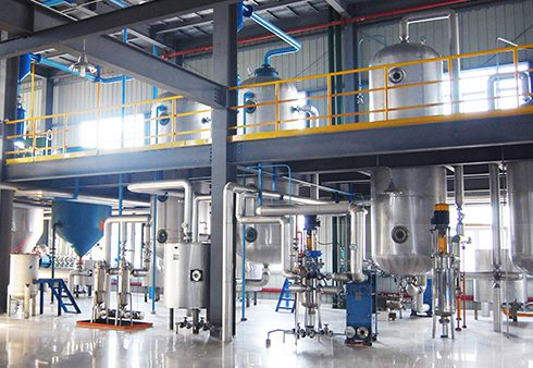 Cooking oil solvent extraction plant/oil cake leaching equipment