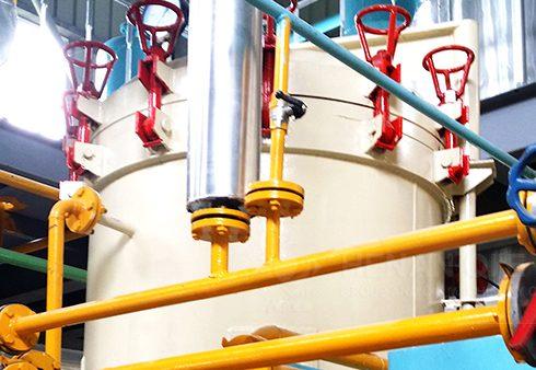 Peanut/groundnut oil extraction process