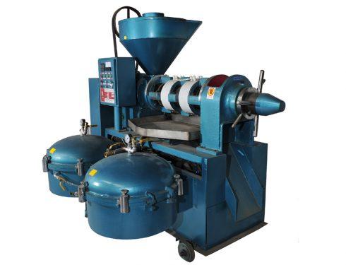Sunflower screw oil press machine