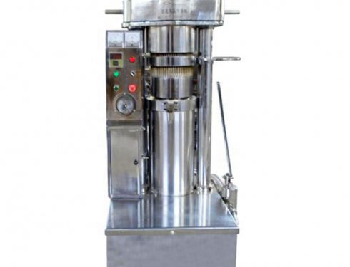 Automatic hydraulic oil press